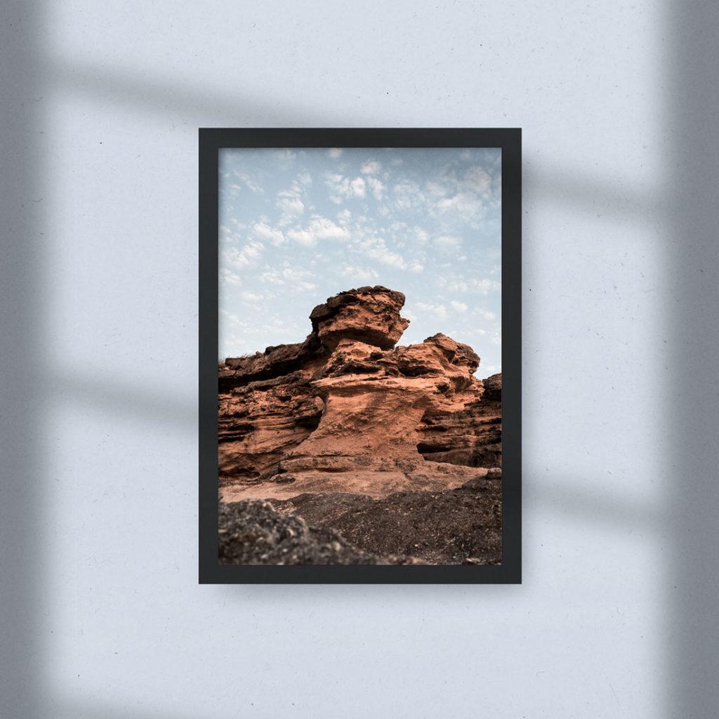 Cadre photo - Canyon À L'aube