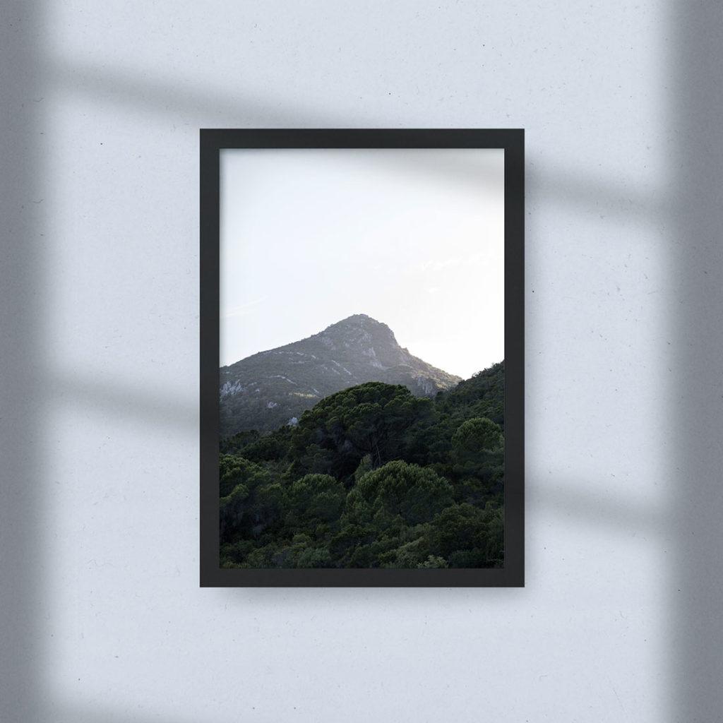 Cadre photo - Sous Un Ciel Blanc